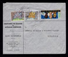 ALTO DA CATUMBELA Luanda ANGOLA Cover 1963 Maps Géographie + Additional POVOAMENTO Portugal Sp4291 - Geography