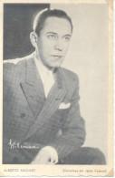 ALBERTO ANCHART PADRE - NOMBRE REAL JESUS ALBERTO ANCHART COMICO ACTOR DE TEATRO Y CINE AUTOGRAFO AÑO 1940 GENTILEZA DE - Autografi