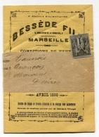 !!! 1 C SAGE SUR BANDE DE JOURNAL AVEC JOURNAL COMPLET BESSEDE - MARSEILLE - Giornali