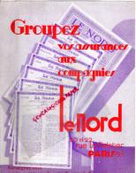 75 - PARIS - BUVARD ASSURANCES LE NORD - 20-22 RUE LE PELETIER   9E - Bank & Insurance
