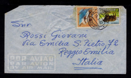 S.PAULO-AVIAO Angola Cover 1962 Water Sports Water-polo Bufalo Faune Animals Portugal Reggio Emilia Italy Sp4293