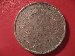 5 Francs Cérès 1850 A Paris 6322 - J. 5 Francs
