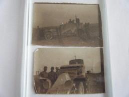 2 Photos  Guerre 14 18  /////poilu/1914 1918/ww1 - Guerre, Militaire