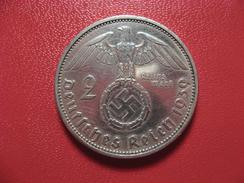 Allemagne - 2 Reichs Mark 1939 A 9138 - [ 4] 1933-1945 : Tercer Reich