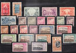 OUBANGUI-CHARI-TCHAD - Lot De 77 Timbres Poste Et Taxes (Voir Liste Détaillé En Descriptif) - Unused Stamps