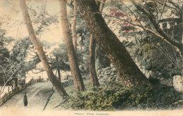 OLD JAPAN NAGASAKI SUWA PARK Postcard - Otros