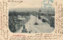 Litho 1898 - HRADEC KRÀLOVÈ (Königgrätz)?, Gel.1898 Nach Wien - Böhmen Und Mähren