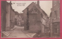 19 - DONZENAC---Entrée De L'Eglise-Rue Basse Vialle - Andere Gemeenten