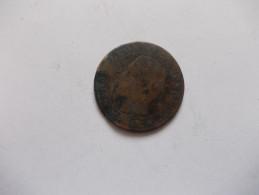 MONNAIE - 5 Ou 10 Centimes Napoleon III Tête Nue 1856 MA