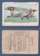 CHROMO PÂTES BOZON VERDURAZ C 8 AVIATION - AVION BIPLACE NIEUPORT 200 CV 1917 - Trade Cards
