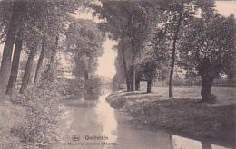 Quiévrain - La Honnelle Derrière L´Abattoir - Circulé 1919, Sous Enveloppe - Quiévrain
