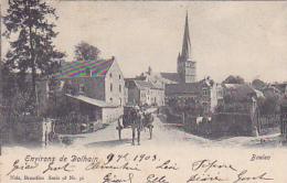 Environs De Dolhain - Baelen - Le Marchand De Panier Quitte La Ville - Circulé 1903 - Baelen