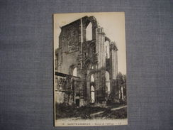 SAINT WANDRILLE  -  76  -  Ruines De L'Abbaye  -  Seine Maritime - Saint-Wandrille-Rançon