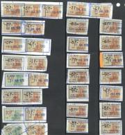 België/Belgique  Fiscale Zegels/timbre Fiscaux Stempel/cachet Zele J. Van Driessche.  Zie/voir Scan - Revenue Stamps