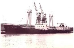 "Photo Bateau Navire "" Penvern "" C.N.C.O Transport Maritime - Boats"