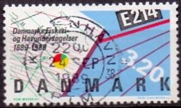 DENEMARKEN 1989 Visserij GB-USED - Denemarken