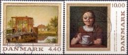DENEMARKEN 1989 Schilderkunst GB-USED - Gebraucht