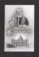 RELIGIONS - PAPES - CARTE - PIUS XII PONT. MAX. - LE PAPE PIE XII - PAR NB - Papes
