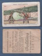 CHROMO PÂTES BOZON VERDURAZ AERONAUTIQUE & AVIATION B 51 - 1926 - AVION DE TRANSPORT WIMY SERVICE FRANCE / ANGLETERRE - Trade Cards