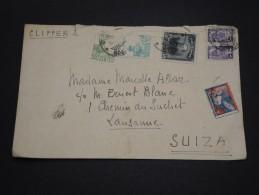COLOMBIE - Enveloppe Pour La Suisse En 1946 Par Clipper , Affranchissement Plaisant - A Voir - L 4767 - Colombie