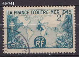 FRANCE N°741   OBLITERE