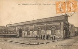Cpa Coulonges Sur L'autize Les Halles - Coulonges-sur-l'Autize