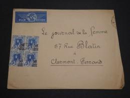 FRANCE / ALGÉRIE - Enveloppe Pour Clermont Ferrand En 1941 , Affranchissement Plaisant - A Voir - L 4781 - Algérie (1924-1962)