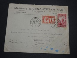 FRANCE / ALGÉRIE - Enveloppe De Alger Pour La France En 1937 , Affranchissement Plaisant - A Voir - L 4782 - Algérie (1924-1962)