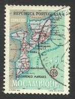 Mozambique, 50 C., 1954, Scott # 389, Used - Mozambique