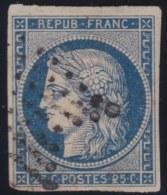 France   .     Yvert     4        .       O           .         Oblitéré