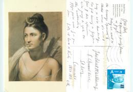 Joseph Ducq, Art Painting Postcard Posted 2012 Stamp - Peintures & Tableaux