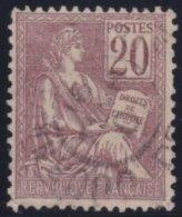 France   .     Yvert       113          .       O           .         Oblitéré