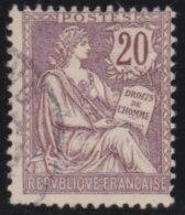 France   .     Yvert       126          .       O           .         Oblitéré