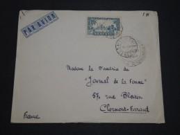 FRANCE / SÉNÉGAL - Env. De St Louis Pour La France En 1941 , Contrôle Postal Militaire, Affr. Plaisant - A Voir - L 4789 - Sénégal (1887-1944)