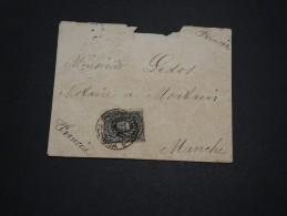 URUGUAY - Enveloppe De Montevideo Pour La France En 1911 , Affranchissement Plaisant - A Voir - L 4790 - Uruguay
