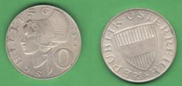 10 Schilling 1965 Austria Österreich - Austria