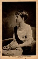 S.A.R. MADAME LE GRANDE DUCHESSE CHARLOTTE  DE LUXEMBOURG...CPA - Familles Royales