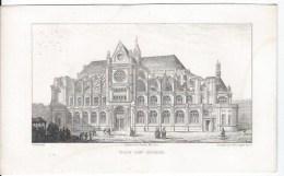 Eglise Saint Eustache - Lithographies
