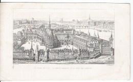 Le Palais En L'ile ,la Sainte Chapelle ,la Cour Des Comptes - Lithographies