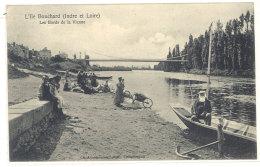 Cpa L'Ile Bouchard - Les Bords De La Vienne   ((S.224)) - L'Île-Bouchard