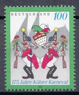 West-Duitsland - 175 Jahre Kölner Karneval - MNH - M 1903 - Carnaval