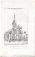 Eglise Saint Severin - Lithographies