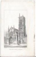 Eglise Saint Jacques La Boucherie - Lithographies