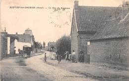 59 - NORD - Beuvry Les Orchies - La Rue De Boutteau - Animée - Francia