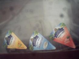 Romania- 3 Labels Cheese - Kaas