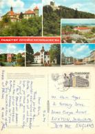 Pamatky Jindrichohradecka, Czech Republic Postcard Posted 1979 Stamp - Czech Republic