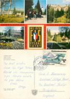 Vysoke Tatry, Slovakia Postcard Posted 1970 Stamp - Slovakia