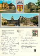 Nove Mesto, Prague Praha, Czech Republic Postcard Posted 1987 Stamp - Czech Republic