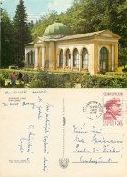 Marianske Lazne, Czech Republic Postcard Posted 1970 Stamp - Czech Republic