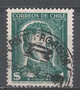 Chile 1952. Scott #265 (U) Bernardo O'Higgins * - Chili